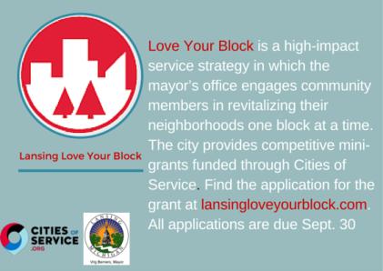 Lansing Love Your Block