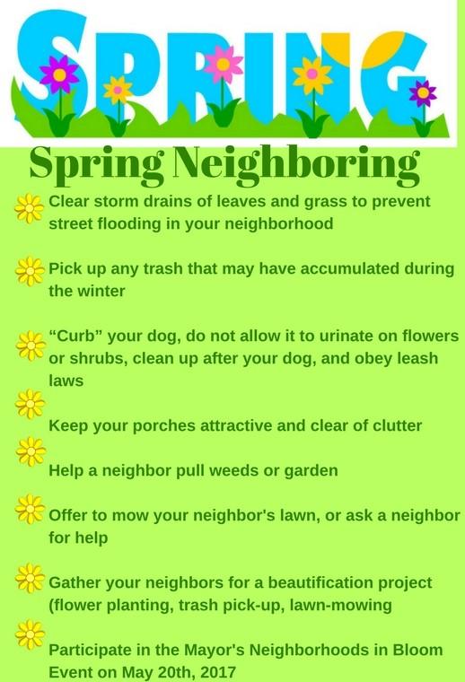 Spring Neighboring